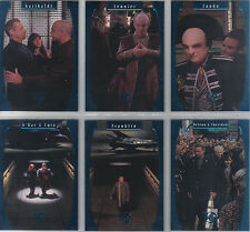 BABYLON 5 SEASON 5 SET OF SIX ONE EXIT AT A TIME CARDS