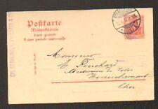 "STRASBOURG (67) TRANSPORT Fluvial & Routier ""STAEHLING-VALENTIN & Cie"" en 1908"