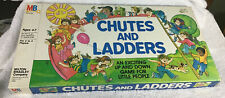 100% Complete Vintage Board Game CHUTES AND LADDERS Milton Bradley 1978.