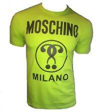 T Shirt Love Moschino Logo Peace Burgundy 3xl