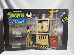 Spawn Alley Action Play Set Complete Special Edition Comic 1994 - New Open Box