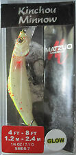 MATZUO  Kinchou Minnow Salmon Series - Size 7 - 1/4 oz. - Lemon Orange Spackle