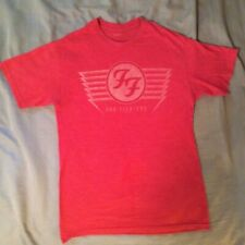 Foo Fighters Heather Red Shirt, vintage style, short sleeve S - M, Nirvana