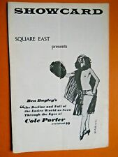 1970's - Square East Theatre Showcard - The Decline and Fall of the Entire World