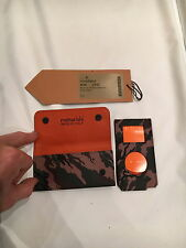 MAHARISHI WOODLAND BONSAI LEATHER IPOD NANO CASE WITH DETACHABLE POUCH!!!!!