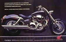 HONDA VTX Original 2 Page Motorcycle Ad 2001