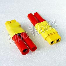 4mm HXT Stecker auf XT60 Buchse Hochvoltstecker Adapter Lade Kabel LiPo Akku