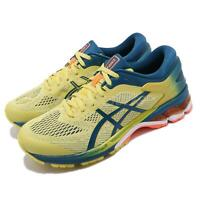 Asics Gel-Kayano 26 Kai Sour Yuzu Yellow Blue Mens Running Shoes 1011A636-750