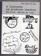 SOARES DE LIMA A ILUSTRACAO NA PRODUCAO LITERARIA BRASIL LIVRES ILLUSTRES BRESIL