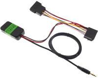 Bluetooth Autoradio Adattatore Radio Aux IN Iso Cavo 12V Spina Jack MP3 Auto