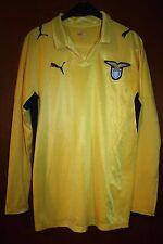 Maglia Shirt Trikot SS Lazio Puma Match Worn Gialla Away Indossata numero 15