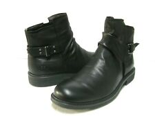UGG MORRISON MEN PULL ON BOOTS LEATHER BLACK US 9 /UK 8 /EU 42 /JP 27