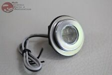 White LED Fastener Custom Auxillary Accent Indicator Marker Light Hot Rod Truck