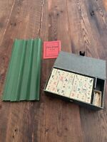 Vintage Parker Brothers MAH JONGG Card Game Babcock Rules 1923 Complete in Box