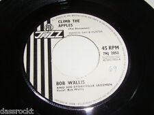 "7"" - Bob Wallis / Climb the Apples & Yellow Yellow Moon - UK # 3219"