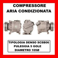 COMPRESSORE AC 13029 FIAT PUNTO 1.2 60/ BIFUEL/ NATURAL POWER KW44 CV60 188A4000