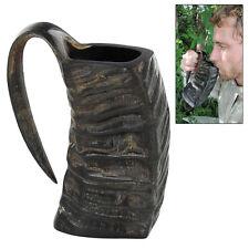Medeival Viking Norse Journeyman Water Buffalo Horn Drinking Beer Ale Mug