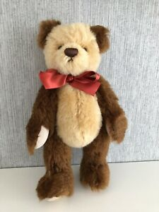 Deans Rag Book Mohair Jointed Teddy Bear 'Hunter' 2008 Membership Bear 10""