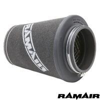 RAMAIR 90mm Neck Universal Performance Foam Air Filter Cone - Induction - Intake