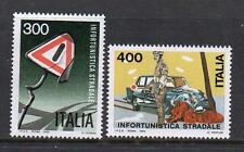 ITALY MNH 1984 SG1822-1823 ROAD SAFETY