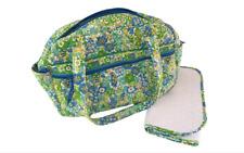 VERA BRADLEY Set DIAPER BAG Changing Mat BABY Pad MATCHING Tote ENGLISH MEADOW