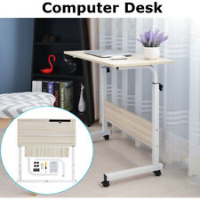 Removable Trolley Laptop Table Computer Desk Sofa Tray Bed Height Adjustable
