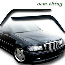 ABS HEADLIGHT COVER EYELIDS EYEBROWS Fit FOR Mercedes Benz W202 SEDAN 93-00 C280