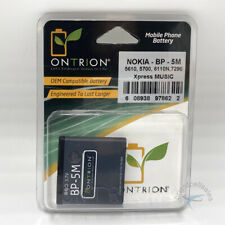 Ontrion 900mAh Replacement Battery for Nokia Xpress Music 5610/5700/6100/7290,5M