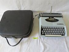 Antik CONSUL Typ 231.2 Koffer Schreibmaschine Reiseschreibmaschine Sammlerstück