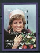 Guernsey 2017 MNH Princess Diana of Wales Regiment 1v MS Royalty Military Stamps