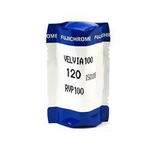 5 Rolls Fuji Fujifilm Velvia 100 120mm E6 Slide Film