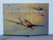 Eagles On The Rampage P-51 Mustang Aces Robert Taylor Aviation Art Brochure