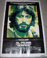SERPICO MOVIE POSTER Folded 27x41 AL PACINO Fine Condition 1974 One Sheet