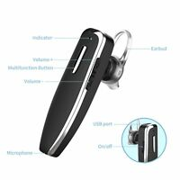 Bluetooth Headphone Sport Earphone Earbud Noise Cancellation 42hrs Talking Time