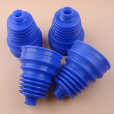 4x Blue Silicone Constant Velocity Joint CV Boot Homokinetic Cover For All Car