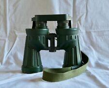 Rare Leica Ednar 6x42 Dutch army binoculars with strap and rainguard