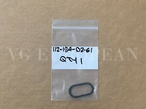 Mercedes Benz Genuine Oil Filter Housing To Oil Cooler Seal Ring Oval NEW