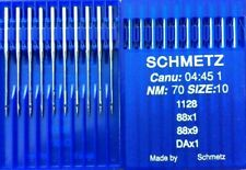 SCHMETZ 134-35 D DPX35 D NM:110 SIZE:18 INDUSTRIAL SEWING MACHINE NEEDLES