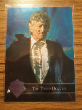 3rd Dr Doctor Who Cornerstone Series 3 Foil 3 Chase Trading Card Tardis Pertwee