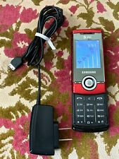 Samsung SGH-A777 GSM 3G Classic Red Slider  Condition: Good Working Condition. I