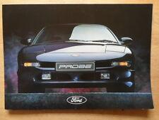 FORD PROBE orig 1994 UK Mkt Sales Brochure - 16v 24v