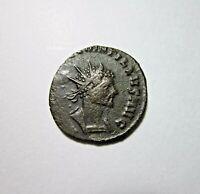 AE ANTONINIANUS. QUINTILLUS, 270 AD. CONCORDIA REVERSE.