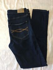 Abercrombie and Fitch Women's Skinny Leg Classic Rise Denim Blue Jeans Size W28