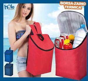 Borsa Termica Portapranzo Frigo Zaino Termico Bottiglia Contenitore Porta Pranzo