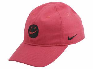 Nike Little Kid's Swoosh Patch Strapback Cotton Baseball Cap Hat