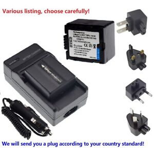 Battery or charger FOR HITACHI DZ-GX5040E DZ-GX5060E MV730A HandyCam camcorder