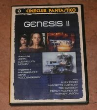 Genesis II DVD Golem Video Film Fantascienza SCi Fi