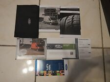 2017 Ford Transit Owner's Manual with Booklet's & Case