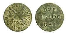 pcc2124_53) ROMA Benedetto XIV (1740-1758) Muraiola 2 Baiocchi 1746