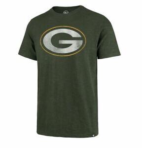 Green Bay Packers Men's '47 Brand Scrum Tee T-Shirt - Green
